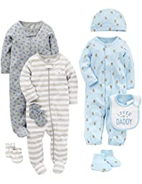 Boys' 8-Piece Footed Take Me Home Set