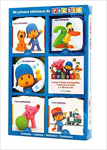 Mi Primera Biblioteca De Pocoyó. Estuche 5 Libros por Zinkia Entertainment  S. A. epub