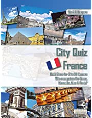 City Quiz France | Book Game for 2 to 20 Gamers | Who recognizes Bordeaux, Marseille, Nice & Paris?