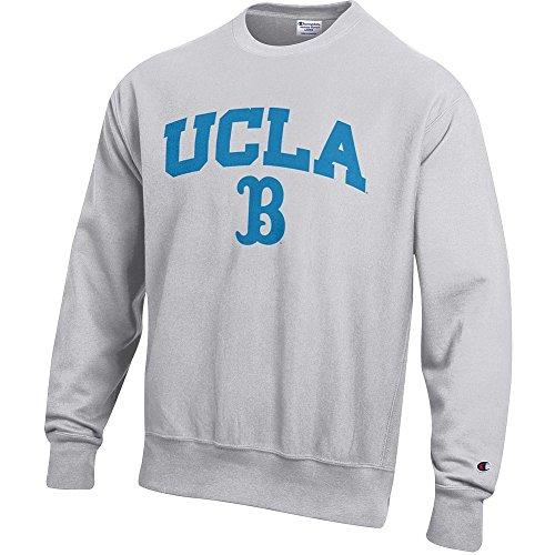 - Elite Fan Shop UCLA Bruins Reverse Weave Crewneck Sweatshirt Gray - M
