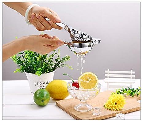 Compra Splink Exprimidor de limones Exprimidores manuales Prensa de acero inoxidable 100% Seguro para la comida Perfecto con todos los cítricos, ...