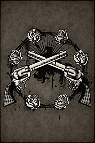 1af3811e6bed0 Guns'n'Roses Notebook: Blank Journal Diary Memoir Log Logue (Tattoo You 150  Lined) (Volume 40) Paperback – March 13, 2018