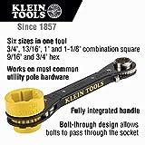 Klein Tools KT155T 6-In-1 Lineman's Ratcheting