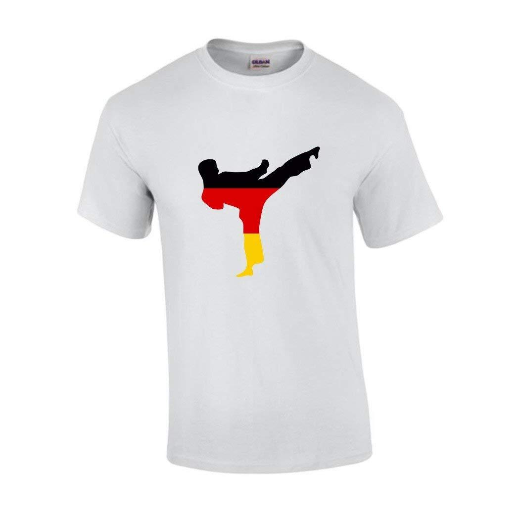 Sportland T-Shirt Karatekämpfer/Kick / Taekwondo Deutschland S.B.J - Sportland