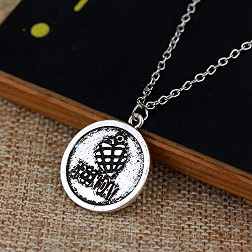Green Day Rock Band Logo Alloy Pendent Cool Necklace USA Punk Band Necklaces Star Band Jewelry Fashion Gif For Fans