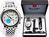 Wonderful Paul Jardin Men's Watch Gift Box Set
