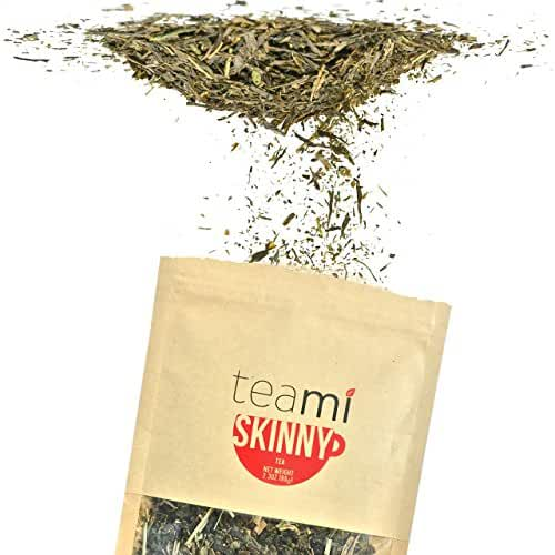 Detox Tea for a Flat Tummy & Weight Loss - 30 Day Teatox Supply to get Fit - Skinny by Teami Blends - Best to Help Boost Metabolism and Reduce Bloating - 100% Natural Appetite Suppressant