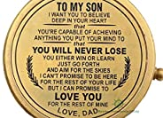RII You are Braver than You Believe,To My Son Compass,My Son,To My Son,Son from Dad,Gift for son,Father Son Gi