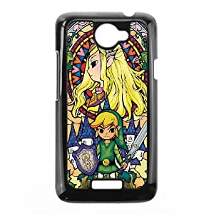 HTC One X Cell Phone Case Black Zelda And Link OJ535676