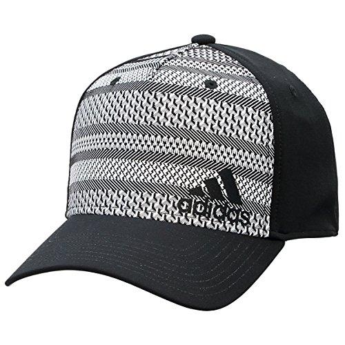 adidas Men's Weave Stretch Fit Cap
