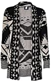 Product review for SugerDiva Skull Print Open Knitted Cardigan