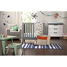 babyletto Fleeting Flora 4-Piece Mini Crib Set