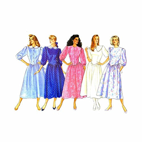 (New Vintage UNCUT Butterick Classics sz 12-16 Dress Pattern 5721)