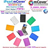 mCover Hard Shell Case for 13.3 Dell Inspiron 13 7373 2-in-1 Convertible (Clear)