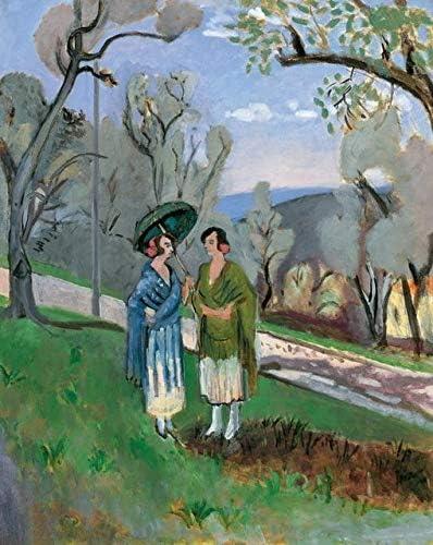 (No Frame) 40x60cmImpresiones en Lienzo de Pinturas de Henri Matisse, Arte de Pared, póster de fauvismo, Cuadros Abstractos modulares, Acuarela, decoración Moderna para el Dormitorio