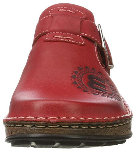 rojo 900500 rojo Mujer Manitu Mules wUdqtnH