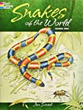 snake coloring book - Snakes of the World Coloring Book (Dover Nature Coloring Book)