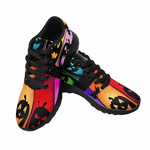 Interestprint Kvinnor Trail Löparskor Jogging Lätta Sport Gå Idrotts Sneakers Halloween Pumpor Färger Fler 1