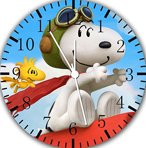 Snoopy Borderless Frameless Wall Clock E150 Nice For Decor Or Gifts by Borderless