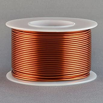 Magnet wire 18 gauge awg enameled copper 100 feet coil winding and magnet wire 18 gauge awg enameled copper 100 feet coil winding and crafts 200c greentooth Choice Image