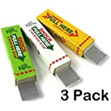 Emorefun Joe 3 Pack of Electric Shock Chewing Gum Tricky Prank Gag Funny Toy Shock Friends Practical Joke, Random Color