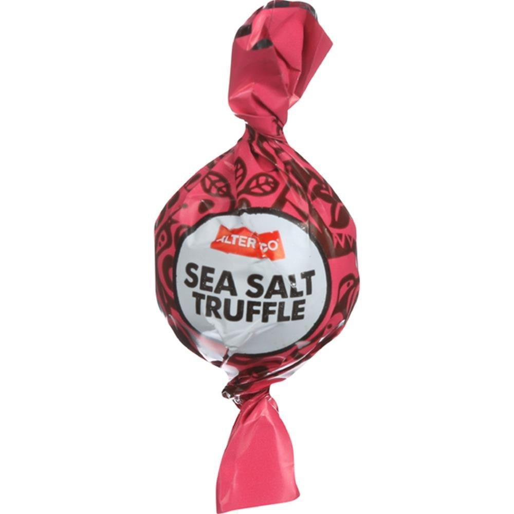 Alter Eco, Truffles Chocolate Sea Salt Single Organic, 0.42 Ounce by Alter Eco