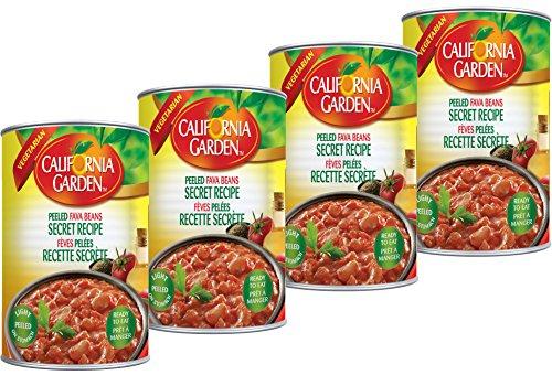 California Garden - California Garden Peeled Fava Beans Secret Recipe 450g (4 cans)