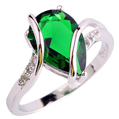 emerald rings for women amazoncom