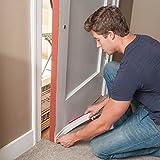 """Door Winter Seal Sound Proof Under Door Draft Blocker Weather Stripping Door insulation, 2"""" W x 39"""" L"""