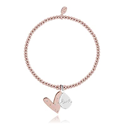 Joma Jewellery Ruby Heart Bracelet (1607)