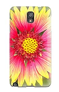 Valerie Lyn Miller Snap On Hard Case Cover Summer Flowers Protector For Galaxy Note 3