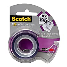 Scotch Expressions Tape, 19mm x 7.62m, 1 Roll, (C214-PUR-D-ESF)
