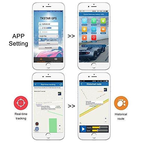GPS Coches Localizador Mini GPS Tracker GPS Niños Vehículo Localizador GPS para Coche Tiempo Real Localizador GPS Coche Rastreador GPS Mascotas Seguimiento ...