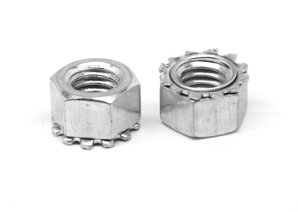 #6-32 Coarse Thread KEPS Nut/Star Nut with External
