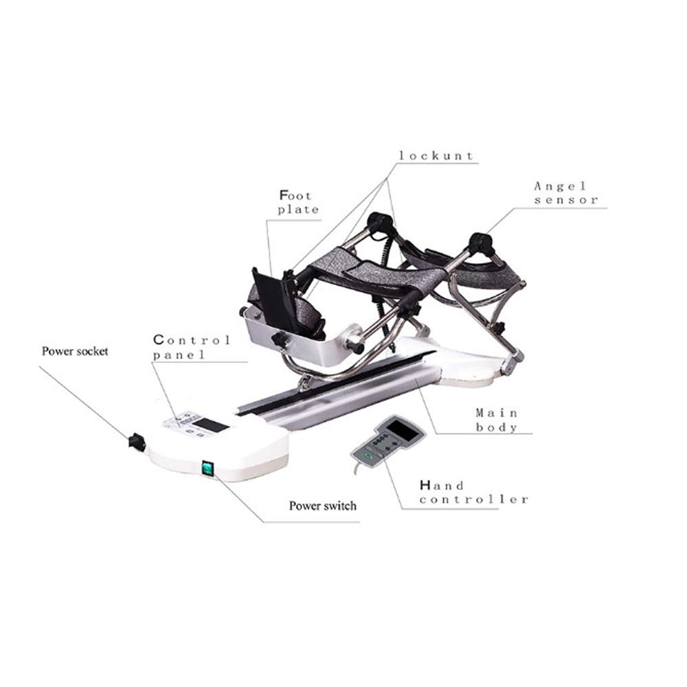 CPM Machine- Continuous Passive Motion Machine Knee Rehabilitation Equipment Exercise Physiotherapy -Lower Limb Traction Machine Leg Rehabilitation Equipment