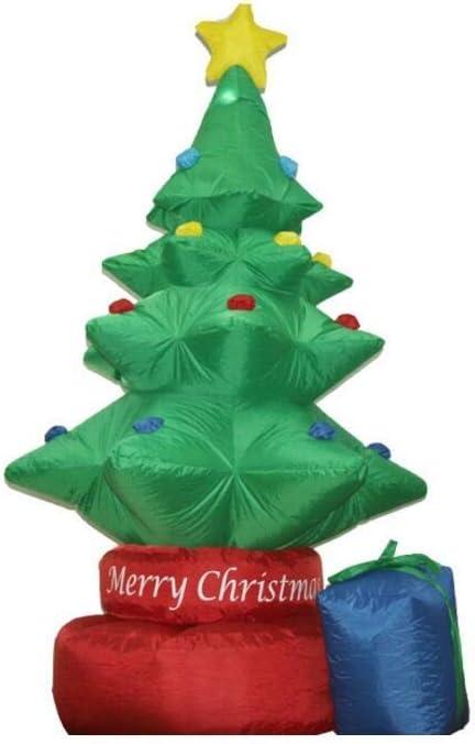 Amazon.com: Arbol de Navidad hinchable modelo de Navidad de ...