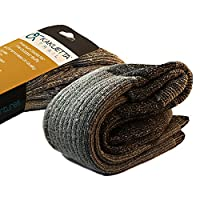 Hiking Socks 100% Merino Wool - Extreme Outdoor Cold Weather Gear 1 Pair