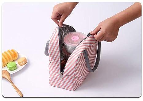 YuHuiYangZhi Bolsa térmica para el Almuerzo Impermeable Bolsa ...
