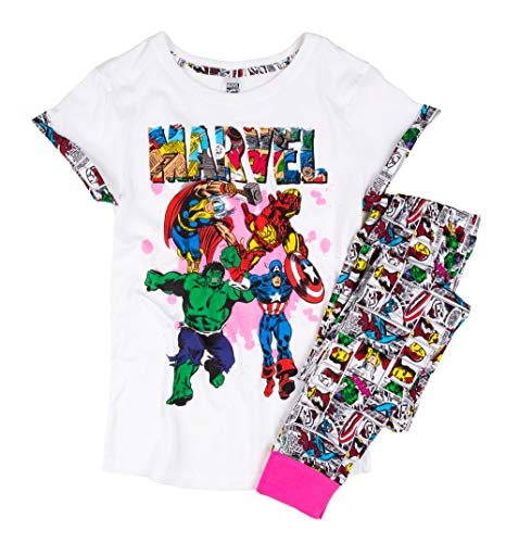 Womens Marvel Comics Comic Strip Pyjamas ()