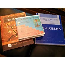 Chalk Dust Company Prealgebra Full Set: Book, Student Solutions Manual, and DVDs