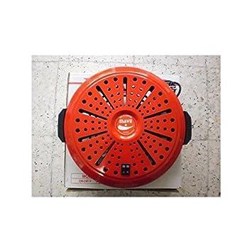 Brasero electrico bn 4 calor negro mave bajo consumo - ROJO