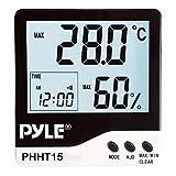 Pyle-Meters PYLE Meters Indoor Digital Hygro-Thermometer PHHT15
