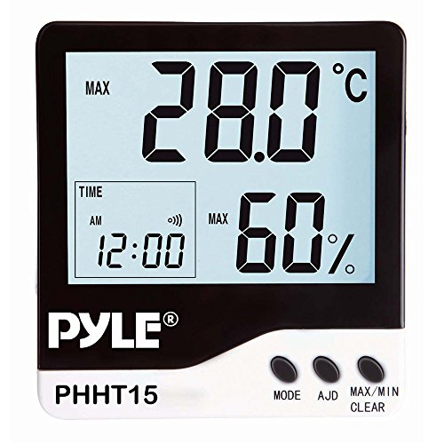 Meters PHHT15 Indoor Digital Hygro Thermometer