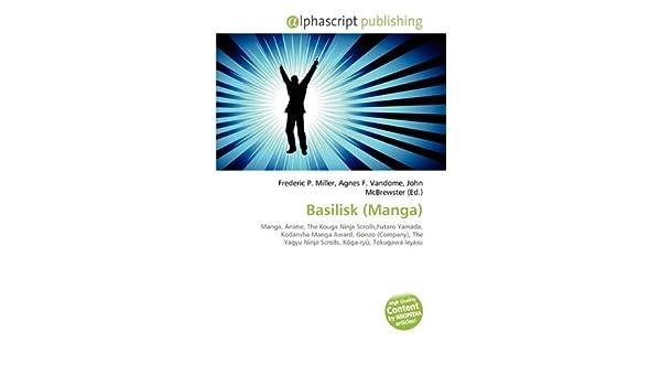 Basilisk (Manga): Amazon.es: Frederic P Miller, Agnes F ...