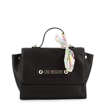 super cute top fashion super specials Love Moschino Peace & Love Scarf Sac à Main Noir: Amazon.fr ...