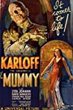 The Mummy Classic Horror Movie Poster - Boris Karloff Print