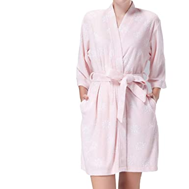 Image Unavailable. Image not available for. Colour  100% Cotton pure colour  Luxury Terry Towelling Bath Robes Dressing Gowns ... ff78a6d3f