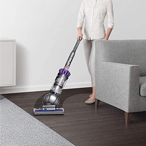 Dyson Slim-Ball Multi Floor Animal Vacuum Cleaner: High Performance, HEPA Filter, Upright, Bagless, Height Adjustment, Telescopic Handle, Self Propelled, Rotating Brushes, Purple + iCarp Sponge Cloth