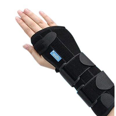 blessures support de poignet droit favorise la circulation et Guérison Petit, Noir