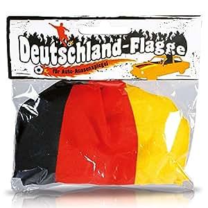 Funda espejos retrovisores con bandera Alemania, 2 unidades